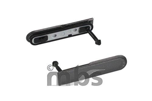 Original Sony USB-Cover black / schwarz für Sony D5503 Xperia Z1 Compact (USB Abdeckung, Dichtung, Kappe) - 1275-0106