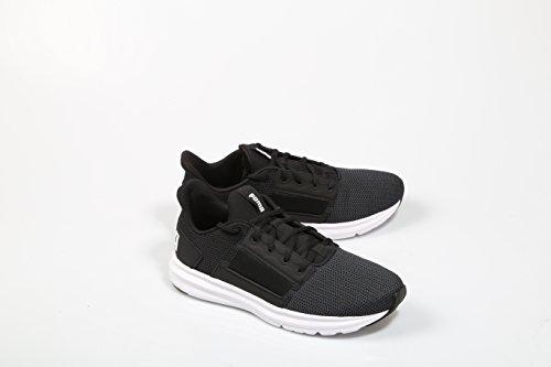 Puma Herren Enzo Street Laufschuhe schwarz - weiß