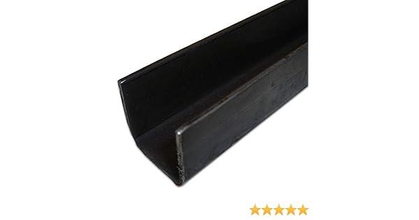 bord mur avec bordure profil Profil rohstahl unbehandelt 1.0038/ST37 B /& T m/étal acier Profil en U 30/X30/X 1,5/Mm gleichschenklig dans longueurs /à 500/mm 0//-3/mm S235/
