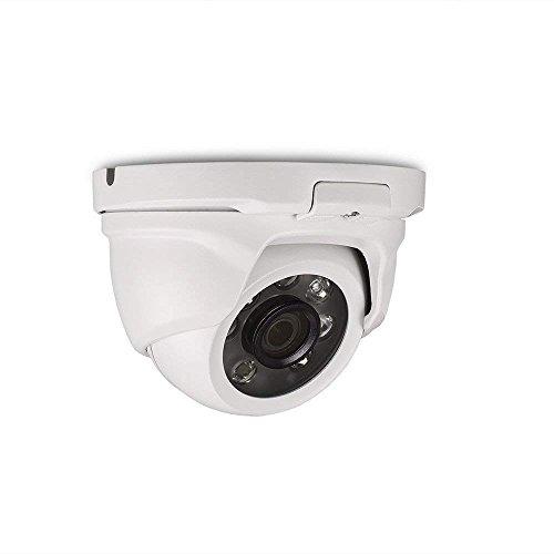 Tonton CCTV 2.0 Megapixel HD 1080P Außen Weiß Dome Video Überwachungskamera Sicherheitskamera, 20m IR Nachtsicht, NUR kompatibel mit AHD/TVI DVR Dvr-wand