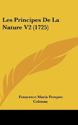 Les Principes de La Nature V2 (1725)