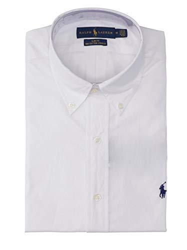 Ralph lauren 710705269 camicie uomo white l