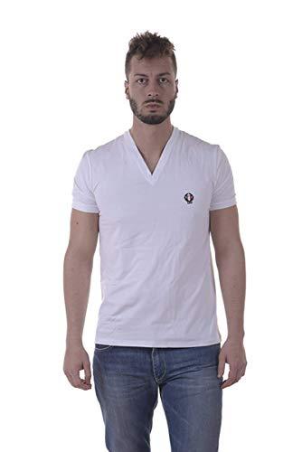 Dolce&Gabbana Underwear Herren T-Shirt Deep V-Neck, Stretch S-XL - Farbauswahl: Farbe: Weiß | Größe: Medium