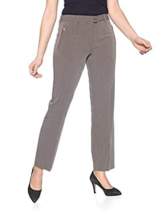 damen Einkaufen rationelle Konstruktion Bexleys by Adler Mode Damen City-Hose Carla mit ...
