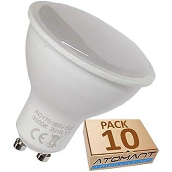 Halogeno LED 550 lumenes reales - Recambio bombillas 50W (Blanco frio (6500K))
