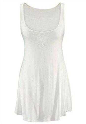 Figurbetonendes Top von Laura Scott in Weiß Weiß