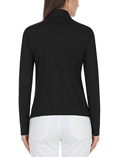 Marc Cain Sports Damen Sport Shirt T-Shirt Mehrfarbig (Black 900)