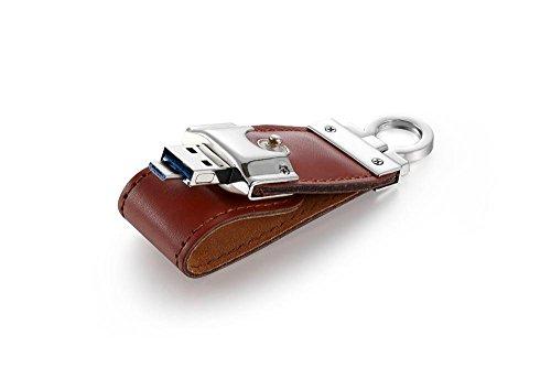 USB-Flash-Laufwerk Leder Set Memory Stick 8G / 16G / 32G / 64G Telefon Computer Dual-Use Micro USB U Festplatte , (Billig Kitty Hello Halskette)