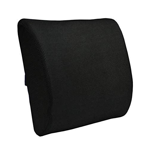 Vosarea Rückenlehne, für Autositz, Rückenlehne, Lendenwirbelstützkissen, Netzgewebe