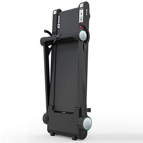 Big seller Tapis roulant Pieghevole Tapis roulant Elettrico a Forma di Cuore in Movimento Movimento Regolabile Altezza Regolabile in Pendenza (Colore : Nero)