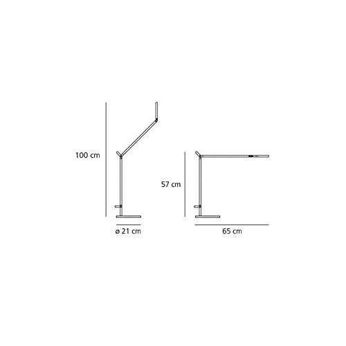 Zoom IMG-1 artemide lampada da tavolo demetra
