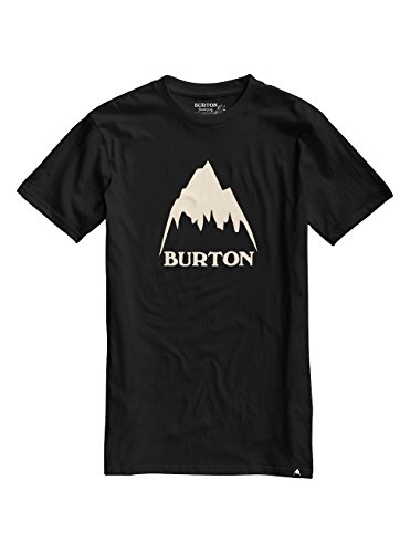 burton-classic-mountain-high-camiseta-hombre-classic-mountain-high-true-black-large