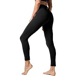 LAPASA Pantalón Deportivo de Mujer, Malla para Running, Yoga y Ejercicio. L01