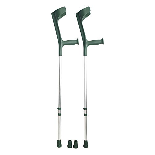 ORTONES | Pack 2 Muletas Adulto Regulables Aluminio