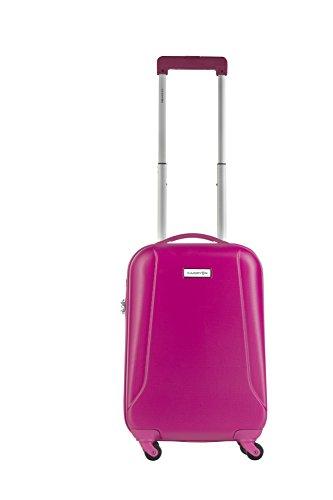 CarryOn Skyhopper Handgepäck - Trolley - Kabinenkoffer - 55cm Reisegepäck - Suitcase (Fuchsia)