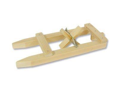 matches21 Boot Modell kleines Schiff mit Gummimotor Bausatz f. Kinder Werkset Bastelset Lernspiel ab 8 Jahren
