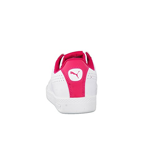Puma Damen Smash Perf Sneaker Weiß (White-Love Potion)