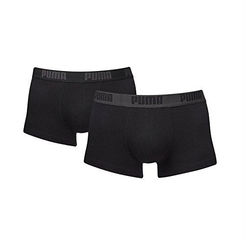 6 x Puma Basic Boxershorts / Hipster / Pant / Short, Farben zur Auswahl, Grösse:S - 4 - 48;Farbe:schwarz