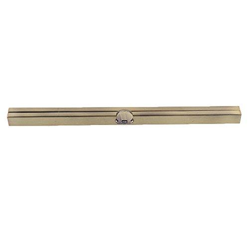 FLAMEER 19cm Taschenverschluss Nähen Münzen Beutel Taschenbüge Abend Geldbeutel Metallrahmen Haken Befestigung - Bronze -