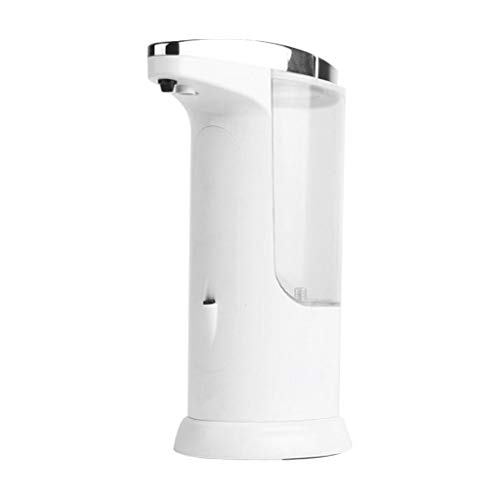 Automatic Hand Soap Dispenser, Seifenspender, berührungsloser, Infrarot-Bewegungssensor Edelstahlspülmittel-Freisprecheinrichtung Auto-Handseifenspender, verbesserte wasserdichte Basis -