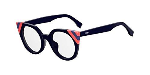 Fendi Damen FF 0246 PJP 48 Sonnenbrille, Blau (Blue)
