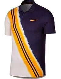 new arrivals a15d3 1ab48 Nike M NKCT ADV Polo NY NT Poloshirt für Herren, Mehrfarbig, SchwarzOrange
