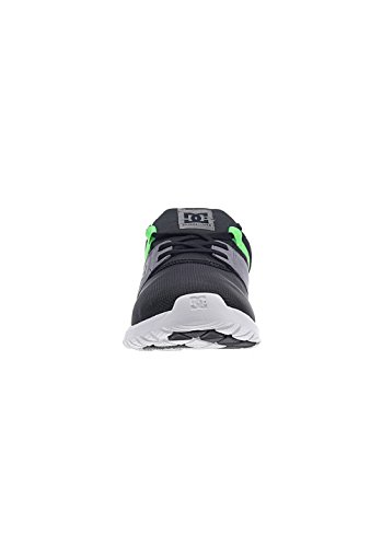 DC Shoes Heathrow M, Baskets Basses Homme Noir - Black/Grey/Green