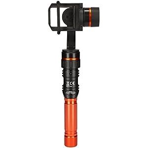 Rollei Pro Actioncam Gimbal - Steadicam (Stabilizzatore) con tre assi per Actioncams, Incl. App, adatto per Rollei… 7 spesavip