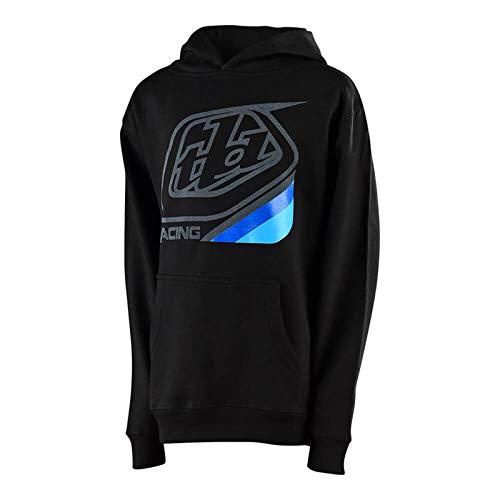 Troy Lee Designs Precision 2.0 Jugend Hoodie Schwarz S - Jugend Hoody Sweatshirt