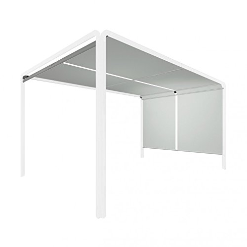 Forio Pergola weiß - 285 x 285 cm, h 220 cm