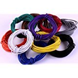 #3: PGSA2Z Branded 20 meter Multistand wires for DIY Electronics Projects (4 colors 5 mts each),Red