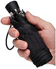 ShopCash Pocket Friendly Black Umbrella 3 fold for Men & Women Easy to Carry & use