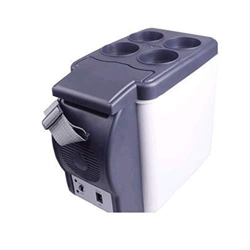 DYV 6L Mini Auto Heizung und Kühlbox Kühlschrank Portable Insulation elektronischen Kühlschrank für Schlafzimmer Büro oder Wohnheim