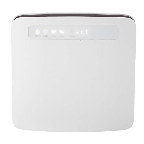 ASHATA WLAN Wireless WiFi Router, 2,4G+5G Dual-Band 4G CPE WiFi Wireless Router WiFi Repeater,Tragbar Super Speed Wireless 4G Router,Unterstützung LTE CAT6/64 Benutzer/SIM-Karte EU-Stecker -