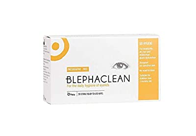 Thea Blephaclean Eyelid Sterile Cleansing Wipes, Pack of 20 Wipes