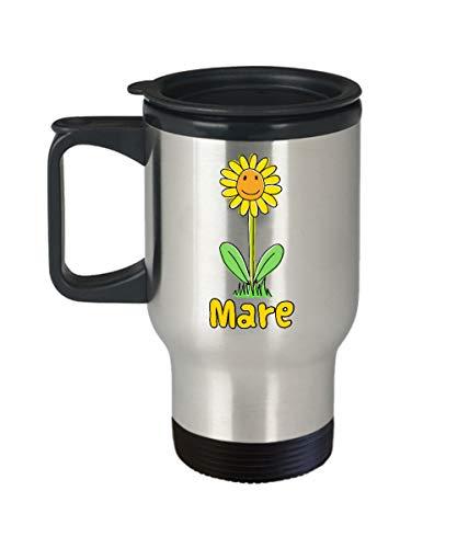 EstherBur87 Sunflower Stainless Steel 14oz Travel Mug benutzerdefinierte Reisebecher personalisierte Tassen Reisebecher billige Geschenke Namen benutzerdefinierte Kaffeetasse