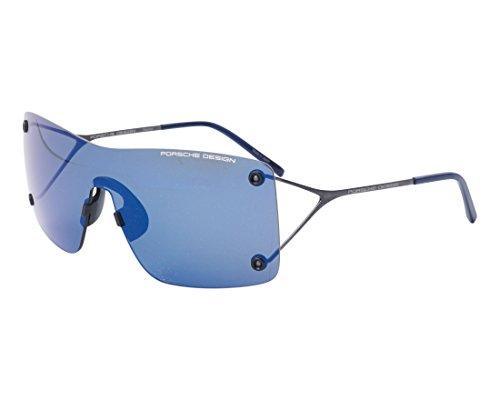 Porsche Design - P8620, Weitere Brillenformen, Titan, Herrenbrillen, RUTHENIUM/DARK BLUE(D ZS)