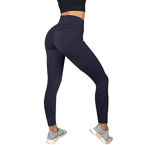 Liamostee Women Sport Pants Yoga Fitness Leggings High Waist Running Gym Trousers