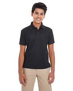 Youth Origin Performance Pique Polo BLACK 703 S (Performance Pique E Polo)