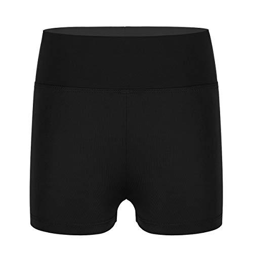 Agoky Pantalones Cortos para Niñas de Yoga Ballet Shorts Deportiva Elástica de Danza Bailarina Traje...