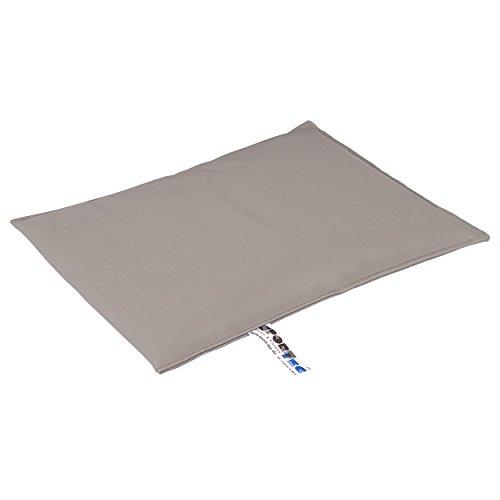 Sport-Tec Sandsack Sandsäckchen Gewichtsäckchen mit Quarzsand 35x25 cm, 4 kg, Grau