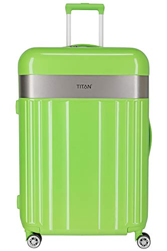 "TITAN Gepäckserie ""Spotlight Flash"" Trolleys und Beautycases in knallbunten Trendfarben Koffer, 76 cm, 102 L, Flashy Kiwi"