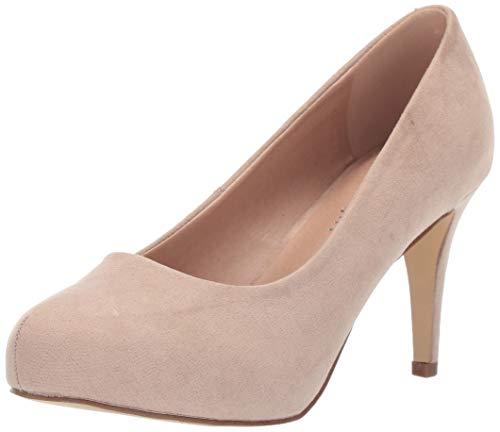 Madden Girl Damen JELSEY, Blush Fabric, 39 EU (Blush Pink Kleid Schuhe)