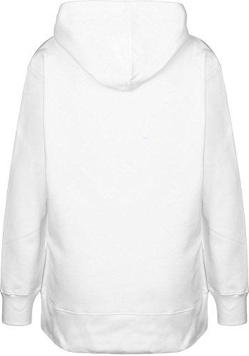 Calvin Klein Jeans Loose Fit W Hoodie Bright White - Calvin Klein-loose-fit-jeans