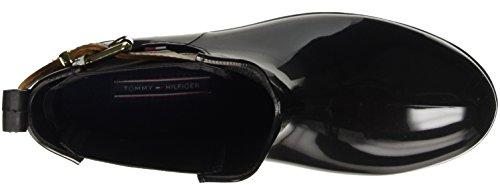 Tommy Hilfiger Damen O1285xley 2z2 Schlupfstiefel Mehrfarbig (black-winter Cognac 990)