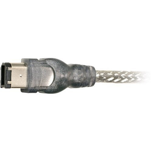 FireWire Cable, 6-Pin to 6-Pin, 6 ft., Sold as 1 Each -