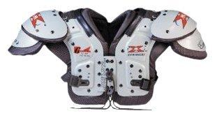 Gear 2000X2Air j.v.-f Schulter Pad, weiß / schwarz