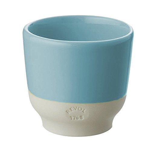 REVOL RV648913 Tasse Espresso, Porcelaine, Bleu, 6,5 x 6,5 x 6 cm