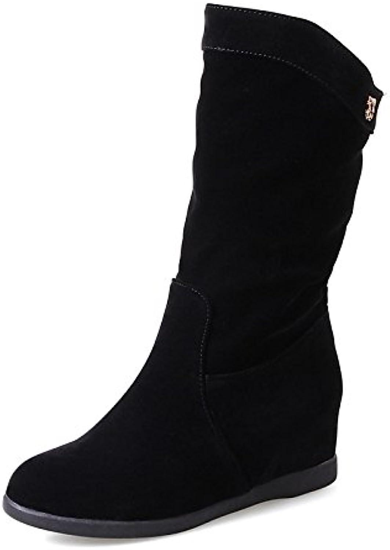 zhznvx hsxz des chaussures bottes automne mode bottes bas toison hiver automne bottes tep bottines / bottines talon tour mi mollet...b078spjfdg parent c6ba83