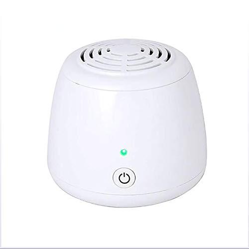 Leistungsstarke Mini Ion Lufterfrischer Deodorizer Luftreiniger, Tragbare Luftreiniger Kühlschrank Ozon Lufterfrischer, Schrank Badezimmer Kleiderschrank Kabinett Haustier RV Keep Fresh Smart White -